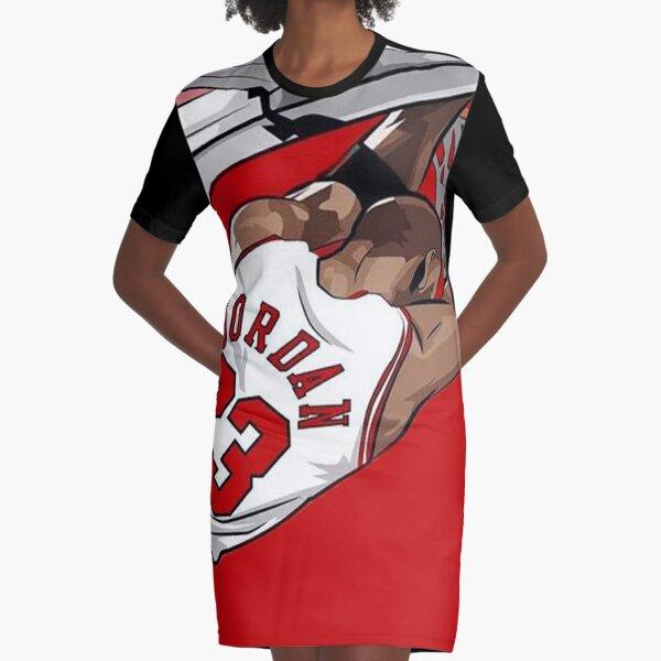 Michael Jordan 23 T-Shirt Kleid