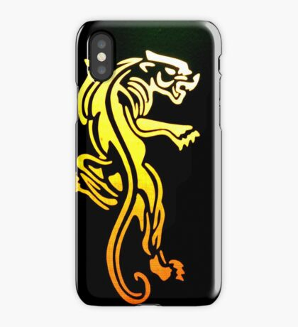 Captured Panther iPhone Case/Skin