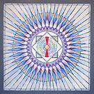 36 Pointed Mandala by Julie Ann Accornero