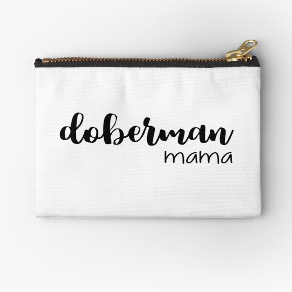 doberman mama Zipper Pouch