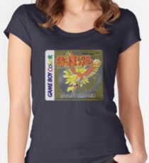 Pokemon Gold  Women's Fitted Scoop T-Shirt