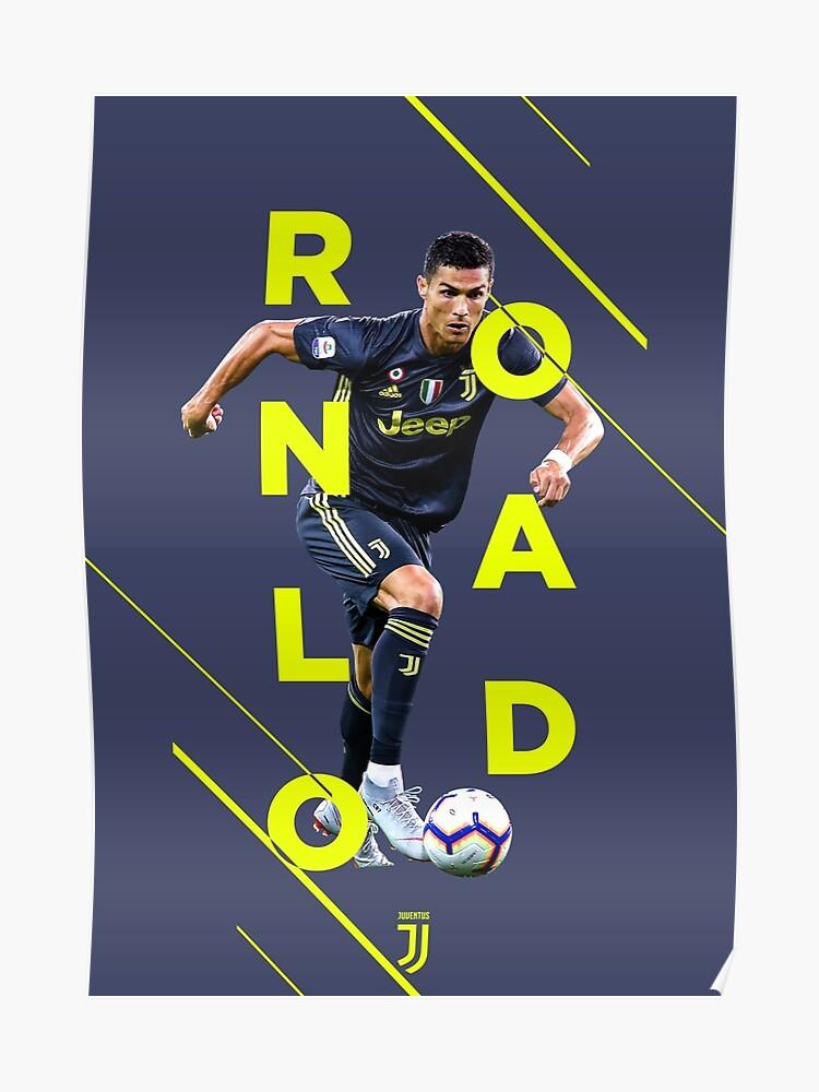 buy popular b8960 15b78 Cristiano Ronaldo - Juventus (3rd Kit)   Poster
