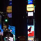 Time Square at Night by AmyRalston