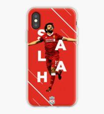 Vinilo o funda para iPhone Mohamed Salah - Liverpool FC