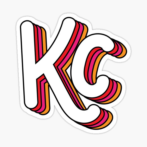 Retro KC (Sunset) Sticker