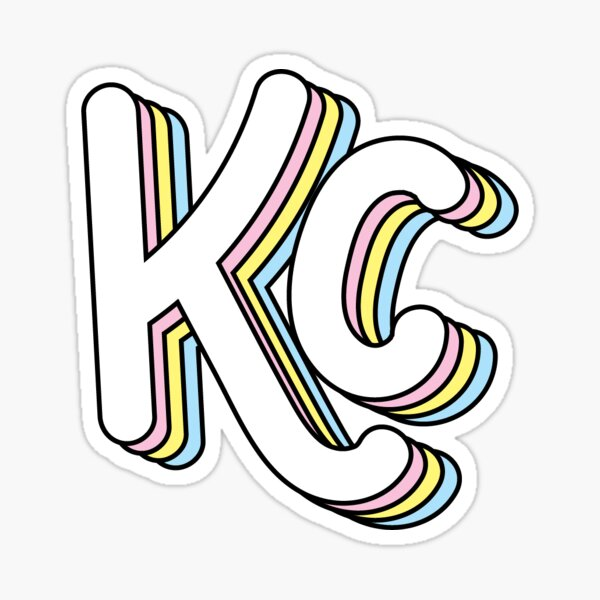Retro KC (Pastel) Sticker