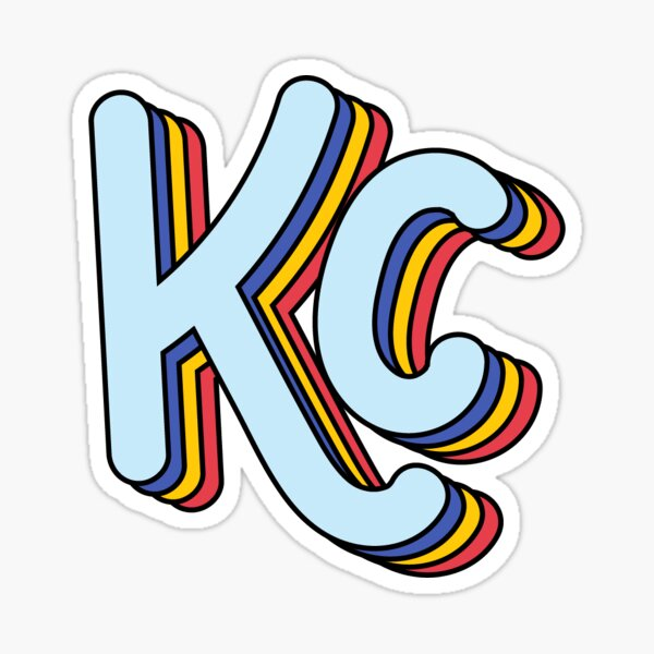 Retro KC (Primary) Sticker