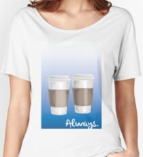 ALWAYS - a Castle celebration (with coffee) Women's Relaxed Fit T-Shirt