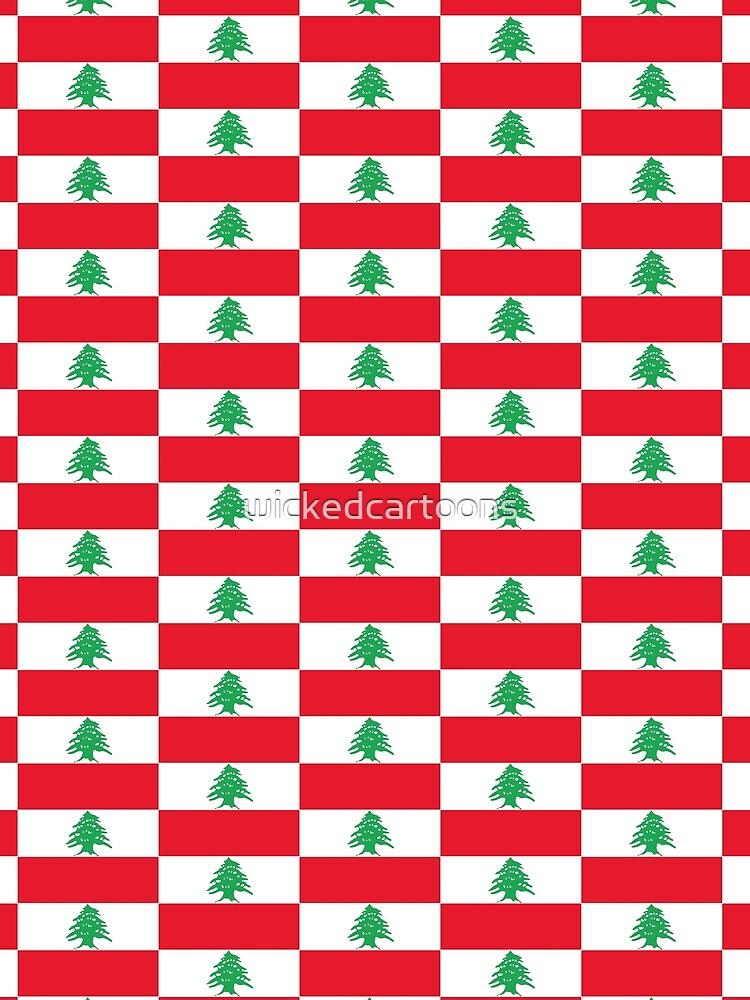 Lebanon by wickedcartoons
