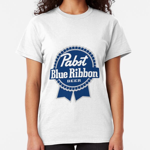 Pabst Blue Ribbon Beer logo Classic T-Shirt