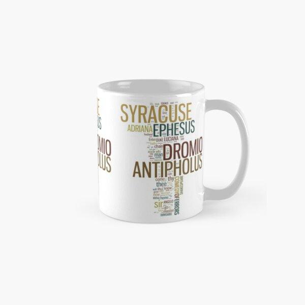 Shakespeare's The Comedy of Errors Wordplay Classic Mug