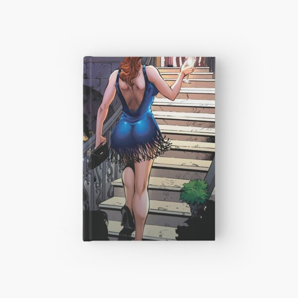 Guinevere Climbs the Stairs Hardcover Journal