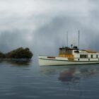 The Mysterious Ship by Carlos Casamayor