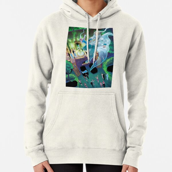 Floating in Astral Space Above a Flapper Party Pullover Hoodie
