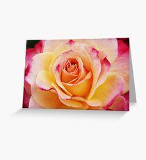 Hybrid Yellow Tea Rose Greeting Card