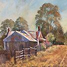 'Hill End Laneway' by Lynda Robinson
