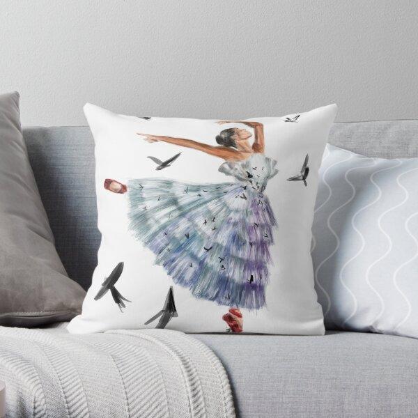 Misty Copeland  Throw Pillow