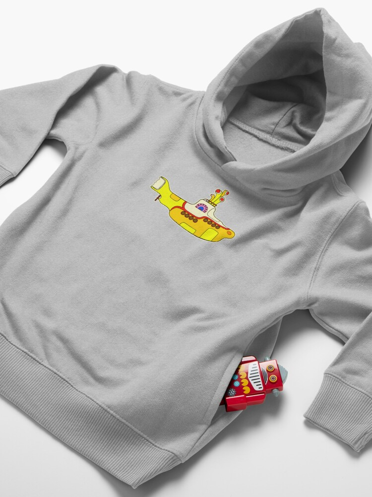 Alternate view of Yellow Submarine Toddler Pullover Hoodie