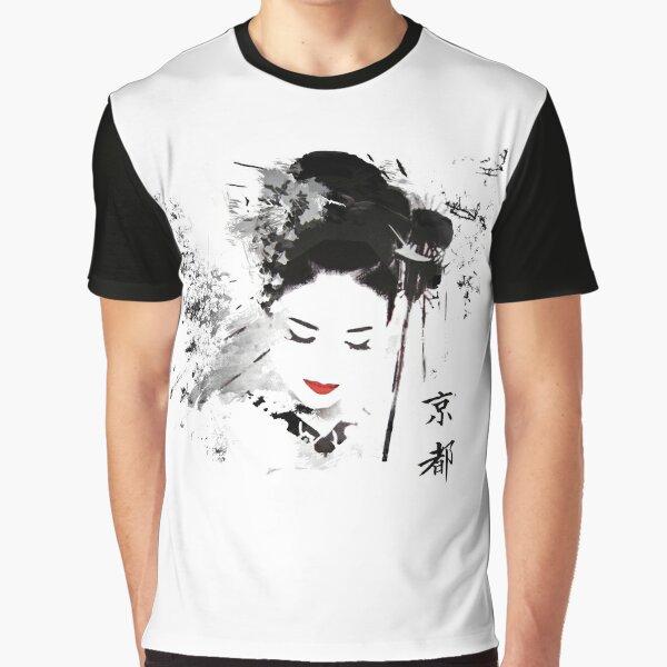 Kyoto Geisha T-shirt graphique