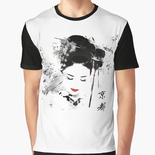 Kyoto Geisha Graphic T-Shirt