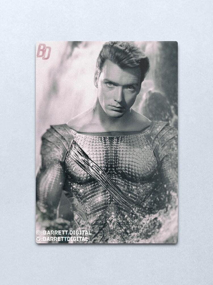 Alternate view of 50s Water Guy Metal Print