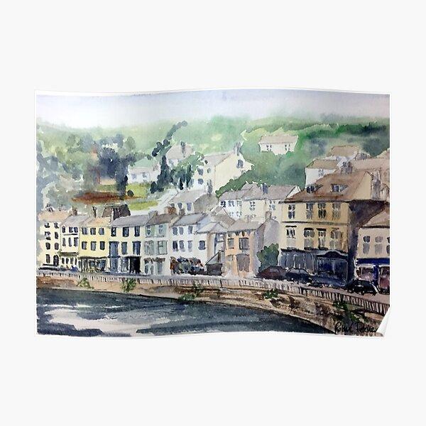 Matlock Bath in the Derbyshire Peak District Poster