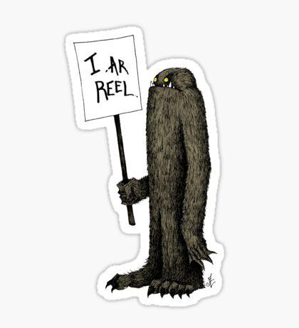 Bigfoot the Subtle Cryptid Sticker