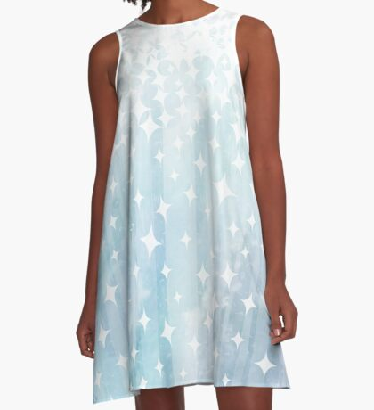 Sparkle and Watercolor A-Line Dress