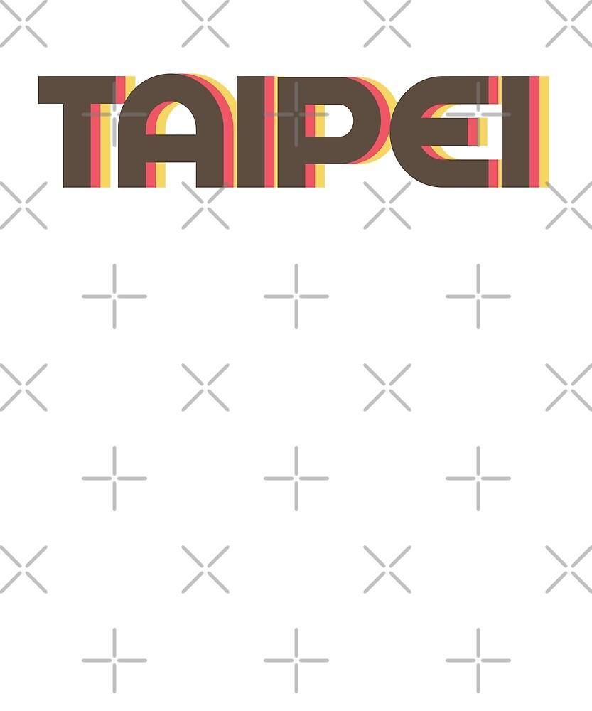 Retro Taipei T-Shirt by designkitsch