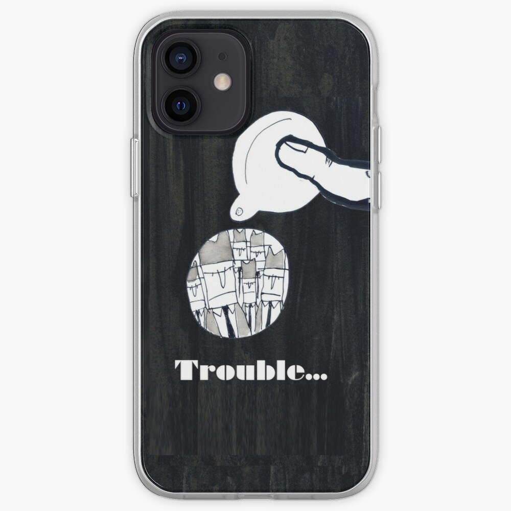 Trouble iPhone Case & Cover