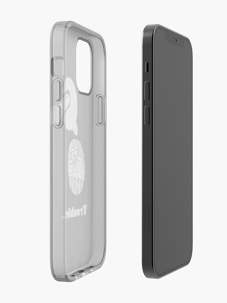 Alternate view of Trouble iPhone Case & Cover