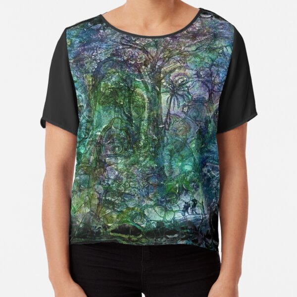 The Atlas of Dreams - Color Plate 190 Chiffon Top