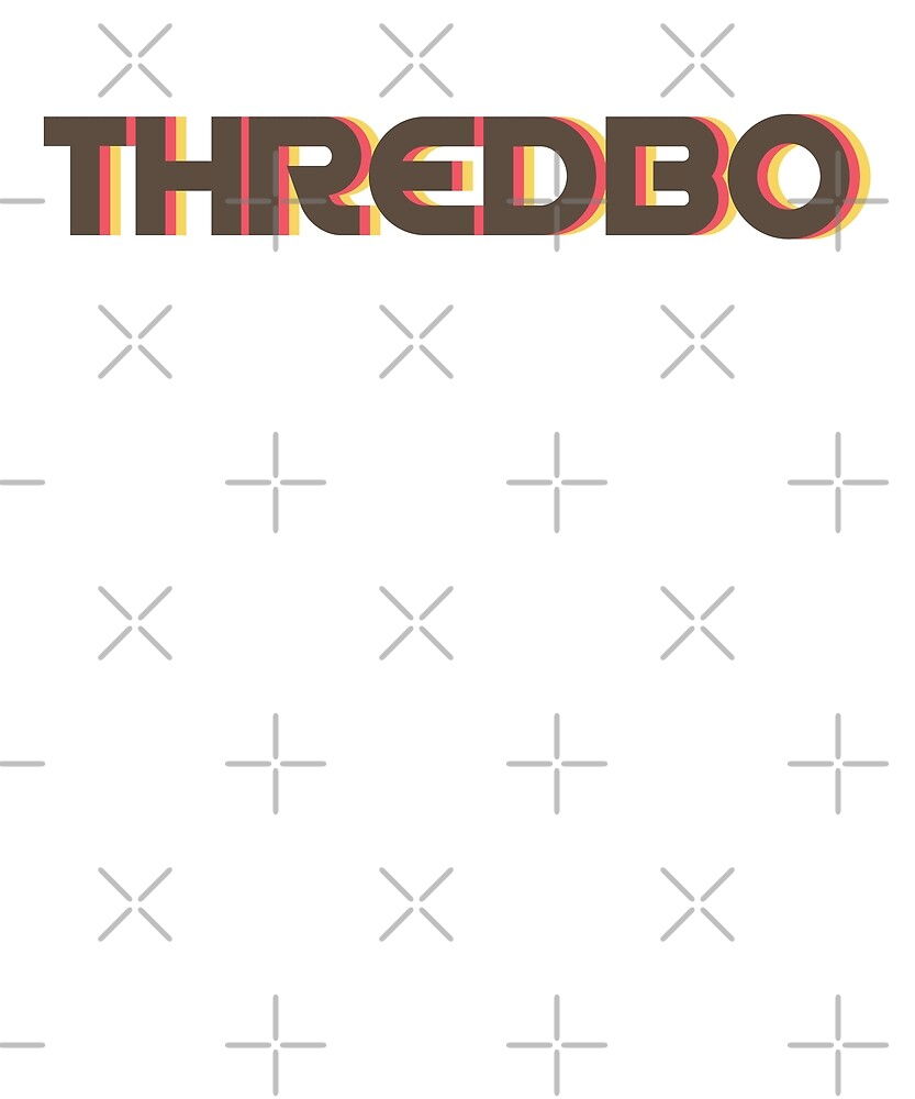 Retro Thredbo T-Shirt by designkitsch