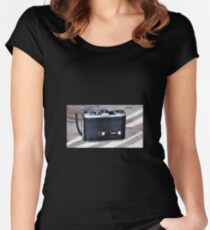 Old camera Women's Fitted Scoop T-Shirt