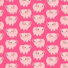Cute Cartoon Pigs Accessories by Cheerful Madness!! by cheerfulmadness