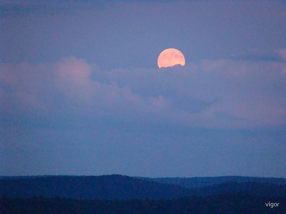 A Full Harvest Moon by vigor