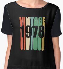 Blusa Diseño Retro 41 años - Vintage 1978