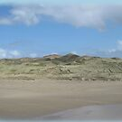 Windswept Donegal beach in winter by DAscroft