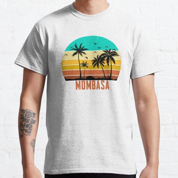 Retro Mombasa Sunset  Classic T-Shirt