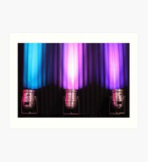 Purple Lights Art Print