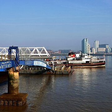 Seacombe Mersey Ferry stage. by Retiree