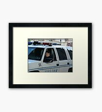 To Protect and Serve Framed Print