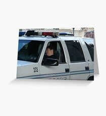 To Protect and Serve Greeting Card