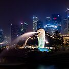 Metropolis Singapore cityscape by Andrew Croucher