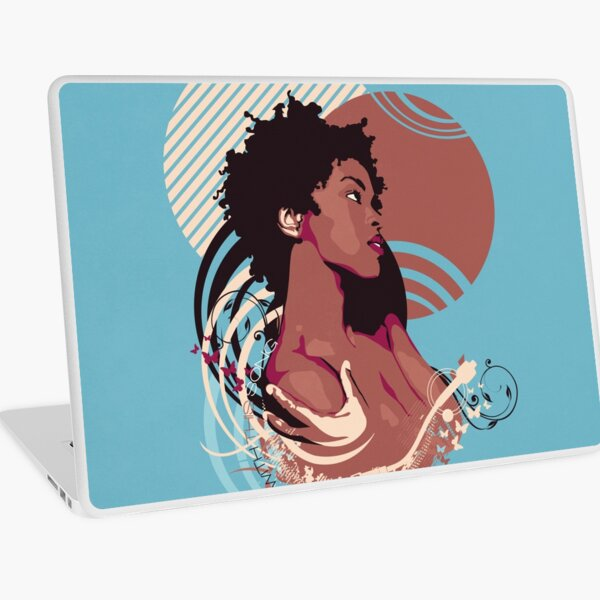 =Lauryn Hill///Killing Me Softly With This Song= Laptop Skin