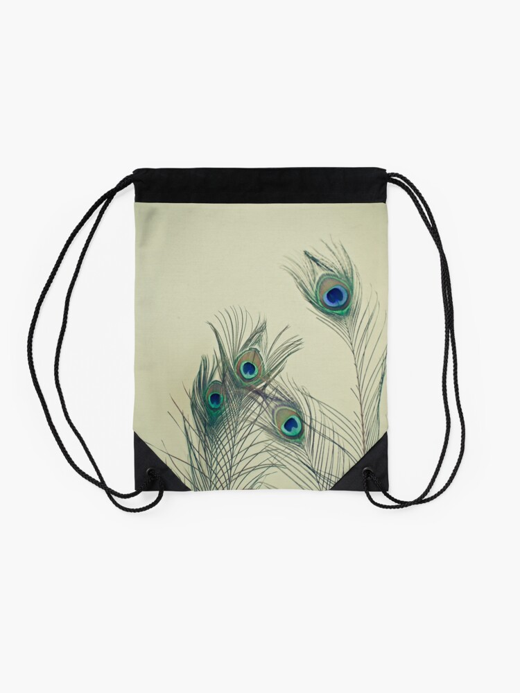 Alternate view of All Eyes Are on You  Drawstring Bag