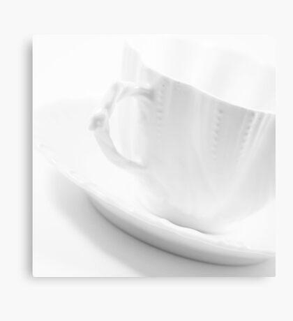 White Cup Canvas Print