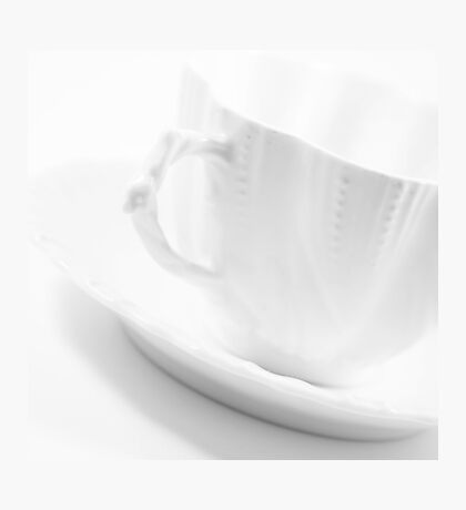 White Cup Photographic Print