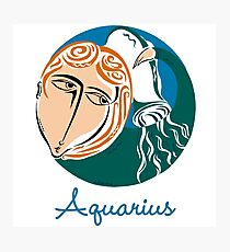 Aquarius Photographic Print