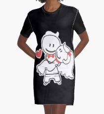 Valentine's day sweet couple. Graphic T-Shirt Dress